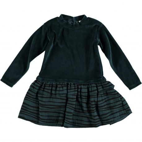 Baby DRESS Girl-85% Cotton 15%Poliester - Knitted