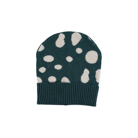 Baby CAP Unisex-3% Cashmere 32%Wool 30% Viscose 32% Nylon 3% Other Fibres - knitted