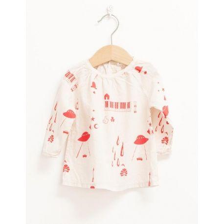 BLOUSE Girl-100% Cotton