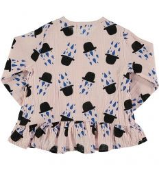 Baby BLOUSE RUFFLES Girl -100% Cotton