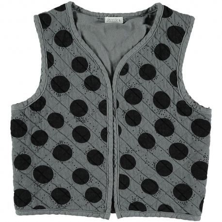 Kid  VEST Unisex-89% Cotton 11% polester
