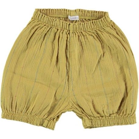 Baby-Kids SHORT TROUSERS Unisex-97% Cotton 3% lurex