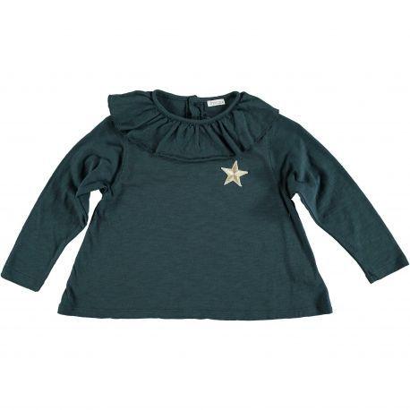 Kid T-SHIRT Girl -75% Cotton 25% Poliester- knitted