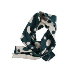 Kid SCARF Unisex-3% Cashmere 32%Wool 30% Viscose 32% Nylon 3% Other Fibres - knitted