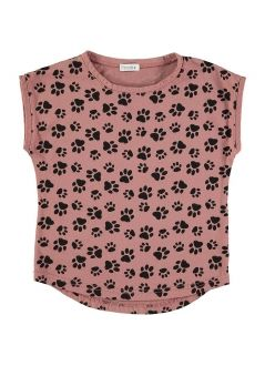 Kid T-SHIRT Girl-100% Cotton-Knitted
