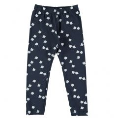 Kids LEGGING Unisex-95% Cotton-5% Elastan-Knitted