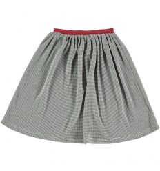 Kids SKIRT Girl-36% Cotton-25% Poliester 3% Elastan-Knitted