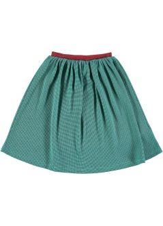 Kids SKIRT Girl-36% Cotton-25% Poliester 3% Elastan-Knitted