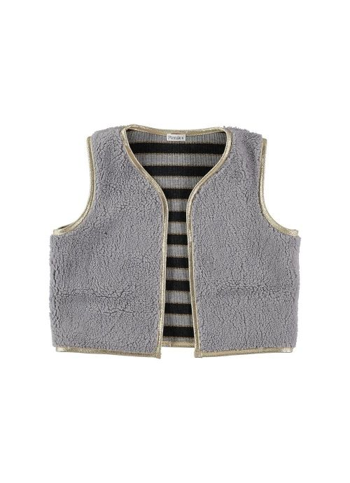 Kid  VEST Unisex-83% Cotton 17% polester