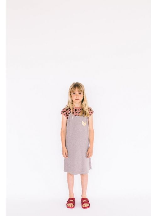 Kid  DRESS Girl-36% Cotton-36% Poliester 25% Viscous -3% Elastan-Knitted