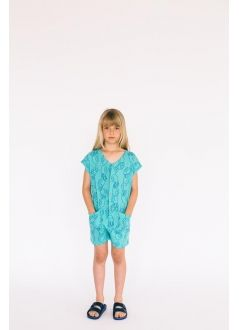 Kid JUMPSUIT Girl- 75% Cotton 25% Poliester- Knitted