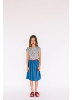 Kid T-SHIRT Girl-75% Cotton 25% Poliester-Knitted