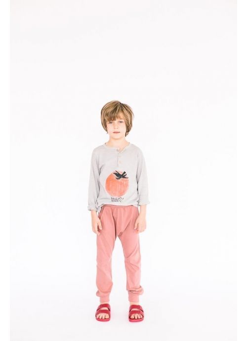 Kid T-SHIRT Unisex-75% Cotton 25% Poliester-Knitted