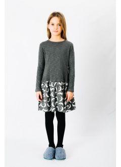 Baby DRESS Girl-50% Cotton 50% Viscose- Woven