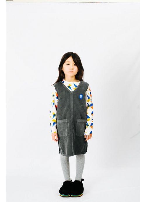 Kid T-SHIRT Girl-50% Cotton 50% Viscose - Woven