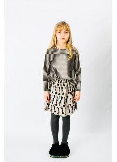 Kid SKIRT Girl-50% Cotton 50% Viscose- Woven
