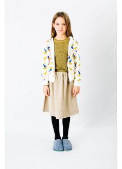Kid SKIRT Girl-100% -Knitted