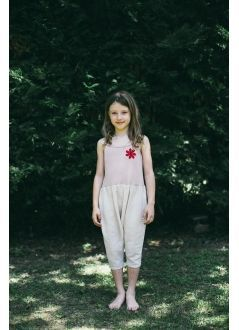 Kid JUMPSUIT Girl-36% Cotton 36% PES 25%CV 3%EA -Knitted