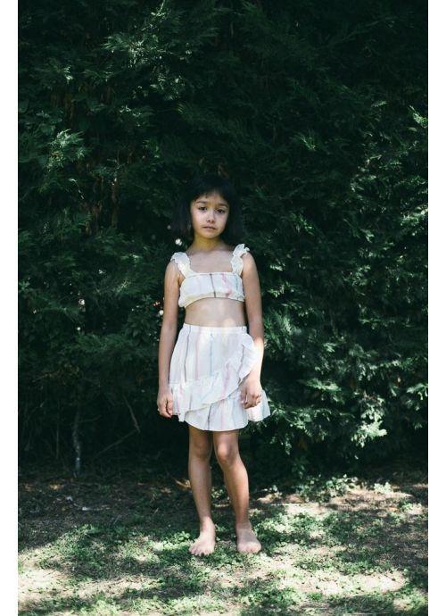 Kid T-SHIRT Girl-100% Cotton- Woven