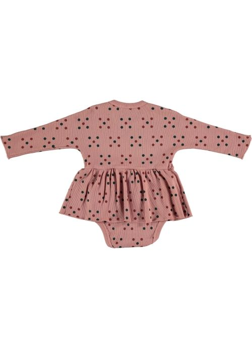 Baby DRESS Girl-98% Cotton 2% Elastan- Knitted