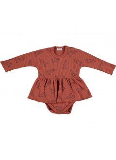 Baby DRESS Girl-98% Cotton 2% Elastan- Knitted