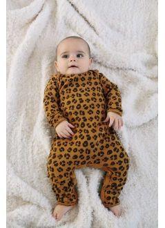 Baby ROMPER Girl-98% Cotton 2% Elastan- Knitted