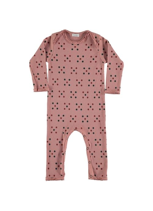 Baby ROMPER Girl-98% Cotton 2% Elastan- Knitted