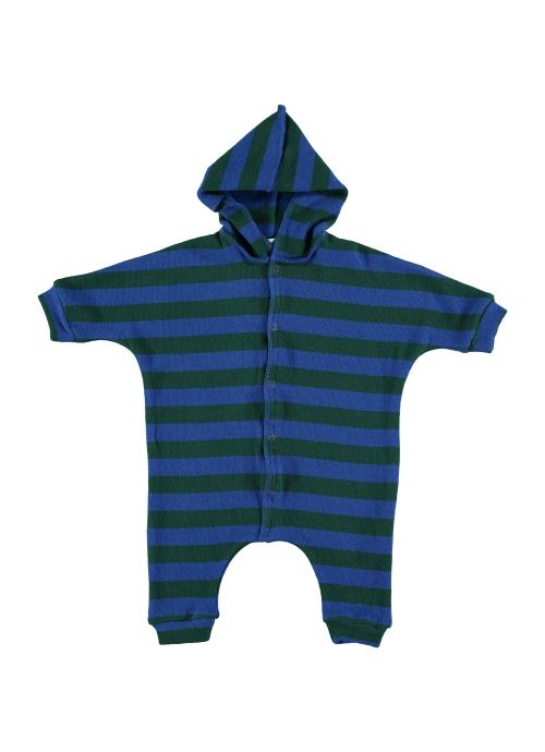 Baby ROMPER Unisex- 70% Cotton 20% PC 3% VI 2%PA 2%EA - knitted