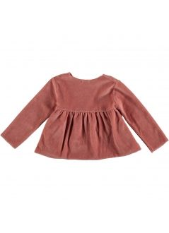 Baby T-SHIRT Girl- 84% Cotton 16% Pes - knitted