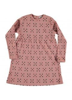 Kid DRESS Girl -98% Cotton 2% Elastan- Knitted