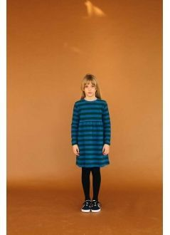 Kid DRESS Girl -74 % Cotton, 23 %, PES, 3 % EA- Knitted