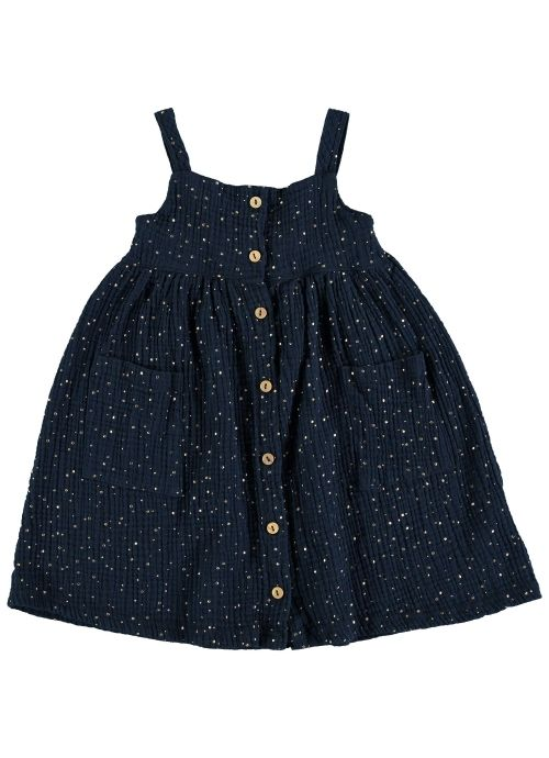 Kid  DRESS Girl- 100% Cotton- Woven