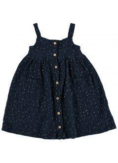 Kid  DRESS Girl- 100% Cotton- Woven