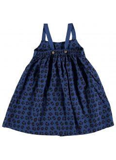 Kid  DRESS Girl-50% Cotton 50% Viscose- Woven