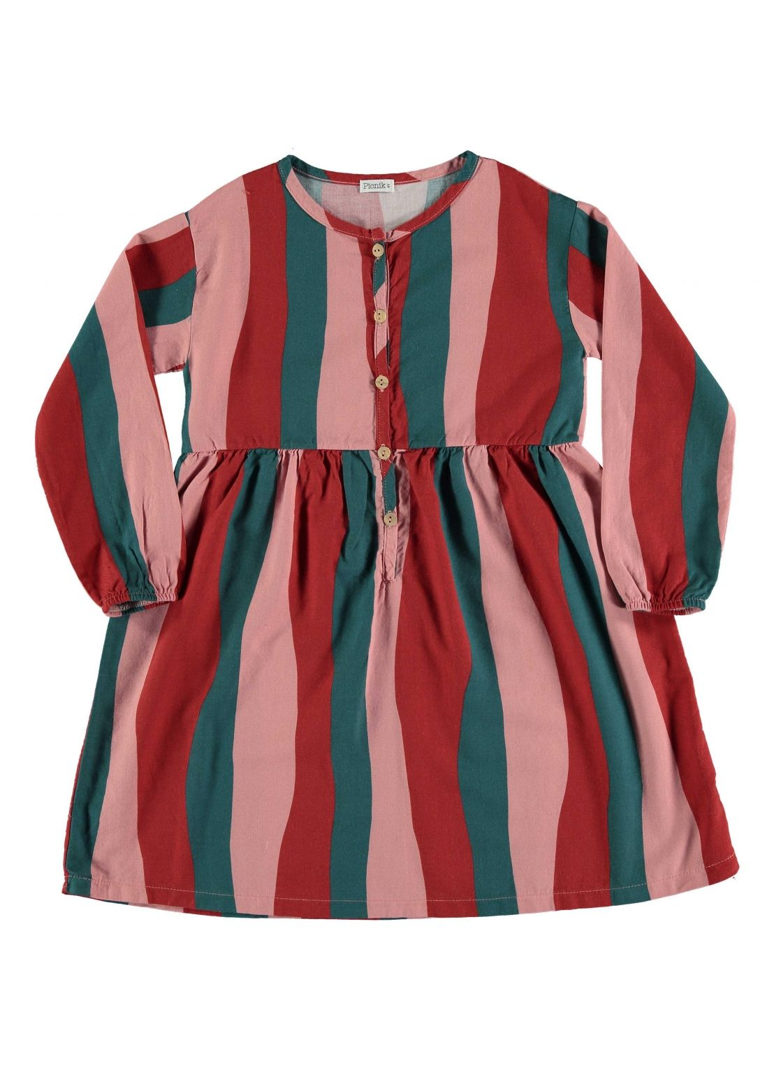 Kid  DRESS Girl-50% Cotton 50% Viscose- Woven