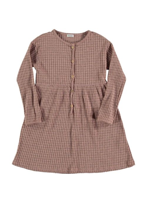 Kid  DRESS Girl- 65 % CO, 25 % PES, 5 % EA, 5 % Lúrex- Knitted