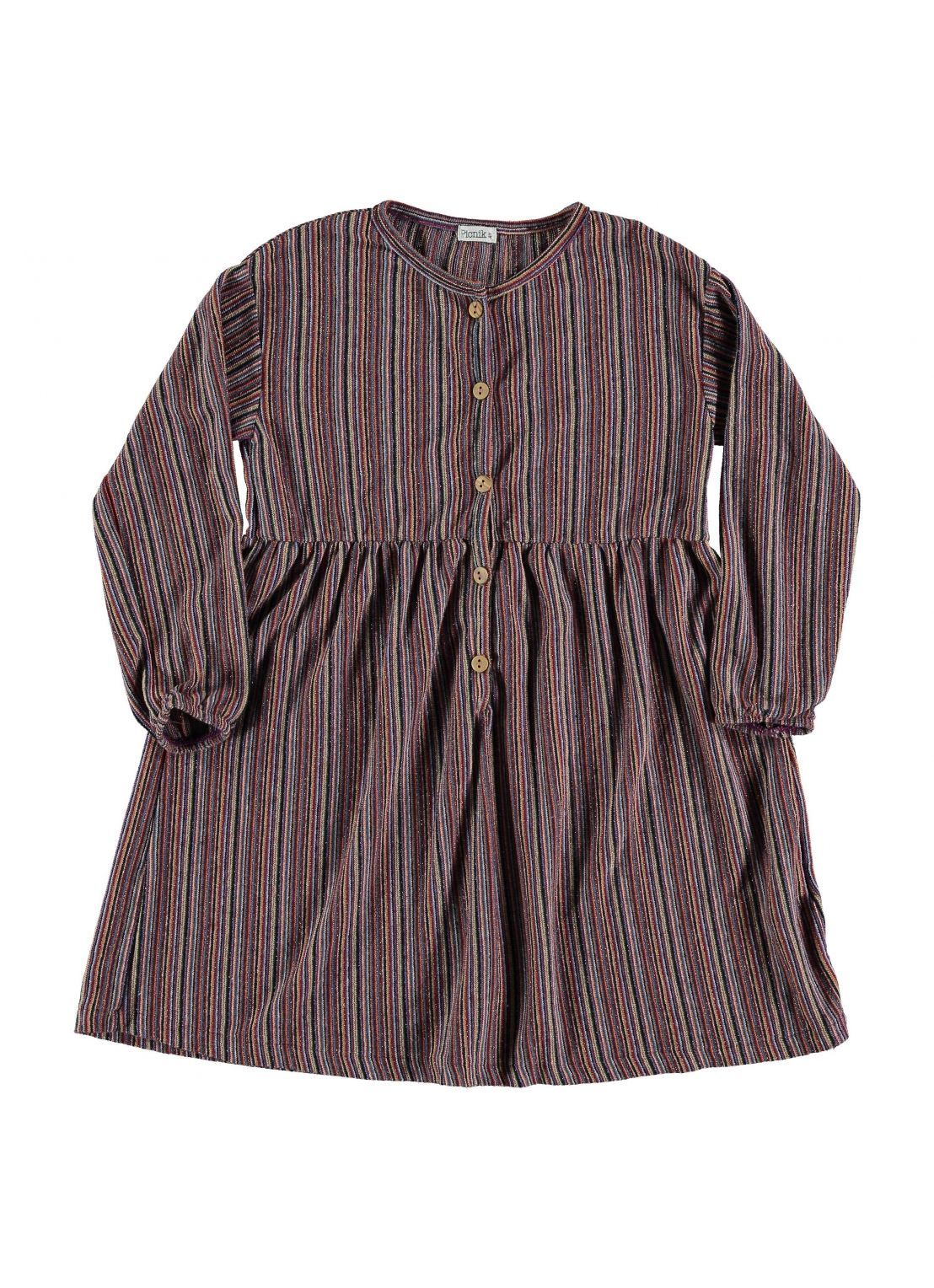 Kid  DRESS Girl- 50 % CO, 36 PAC, 6 % ME, 4 % OF, 4% EA- knitted