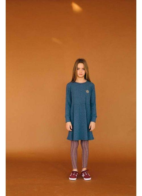Kit DRESS Girl-74% Cotton 23% Poliester 3% Elastan - knitted