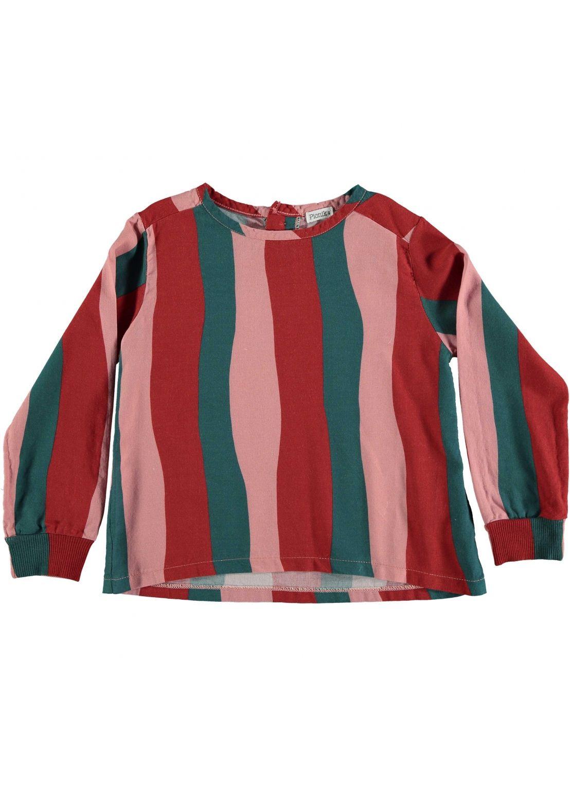 Baby BLOUSE Girl- 50% Cotton 50% Viscosa- Woven