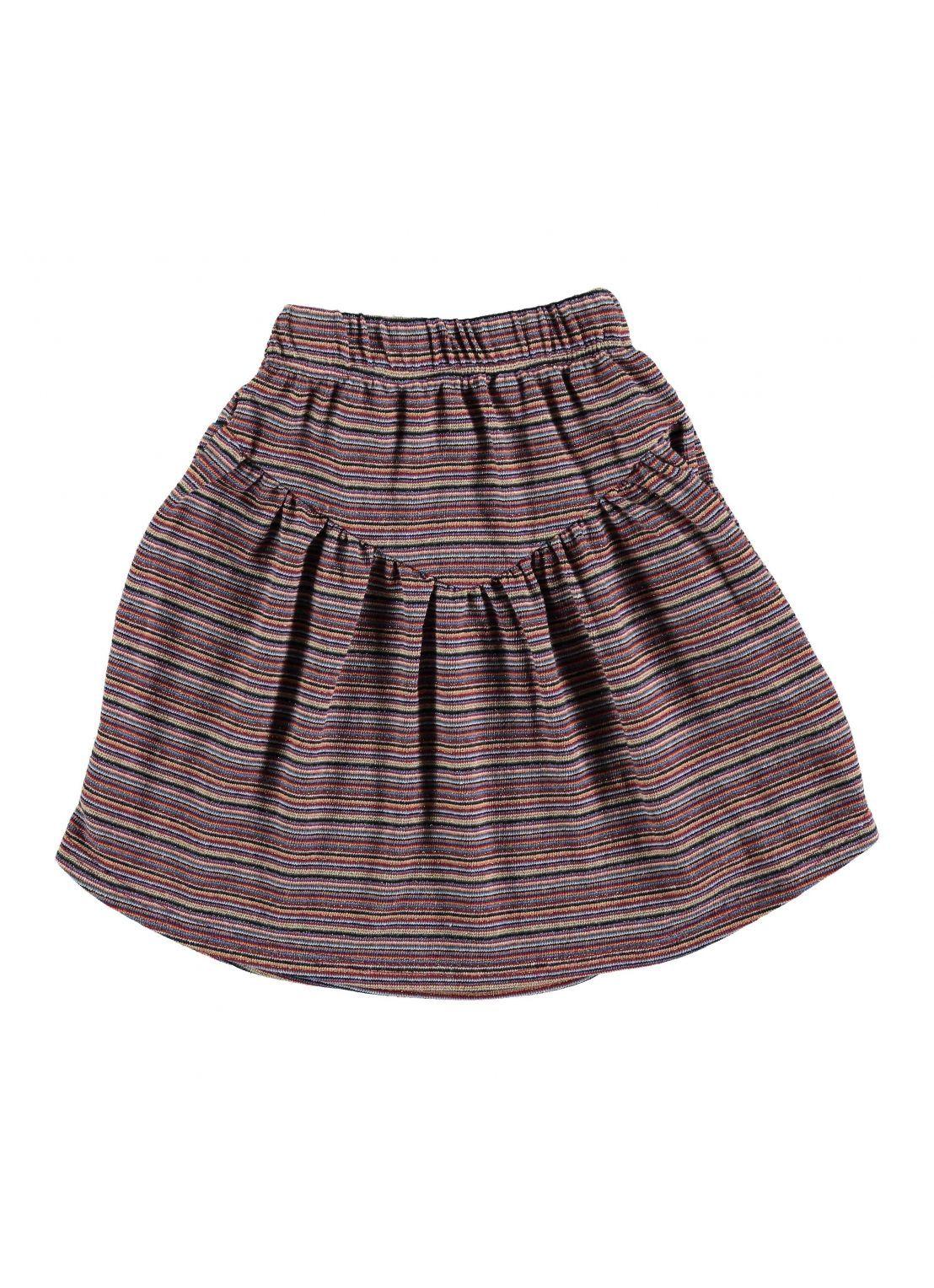 Kit SKIRT Girl-50 % CO, 36 PAC, 6 % ME, 4 % OF, 4% EA- Knitted