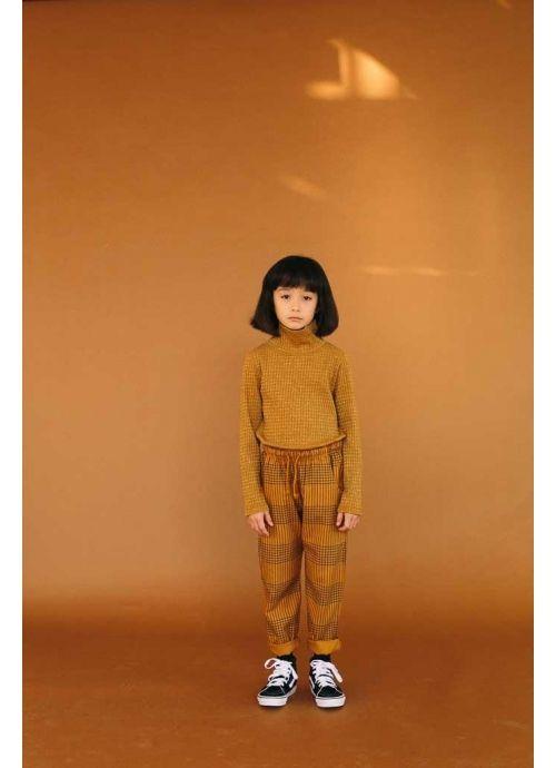Kid TROUSERS  Unisex -50% Cotton 50% Viscose- Woven