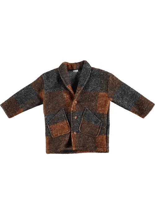Kit Coat Unisex- 55% PES 45% WO- Knitted