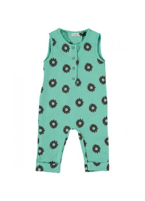 Baby ROMPER Unisex-80% Cotton 20% Linen- Woven