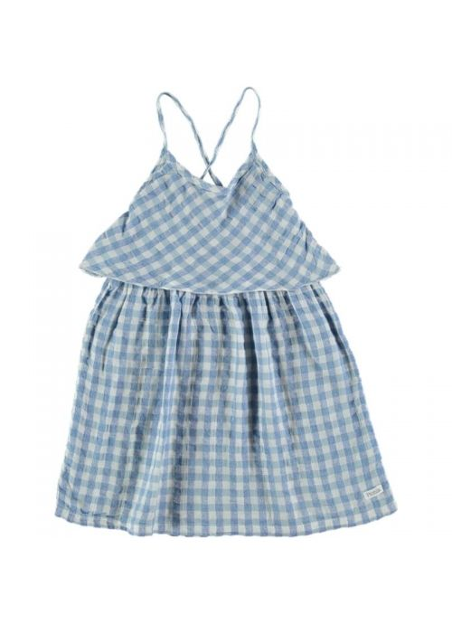 Kid DRESS Girl 50% Cotton 50% CV Linen -Woven