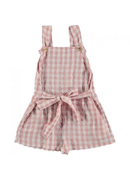 Kid JUMPSUIT Girl 50% Cotton 50% CV Linen -Woven