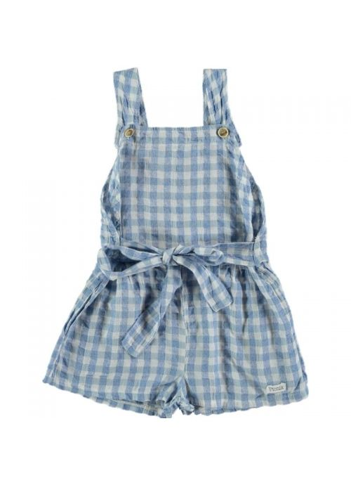 Kid JUMPSUIT Girl 50% Cotton 50% CV Linen -Woven