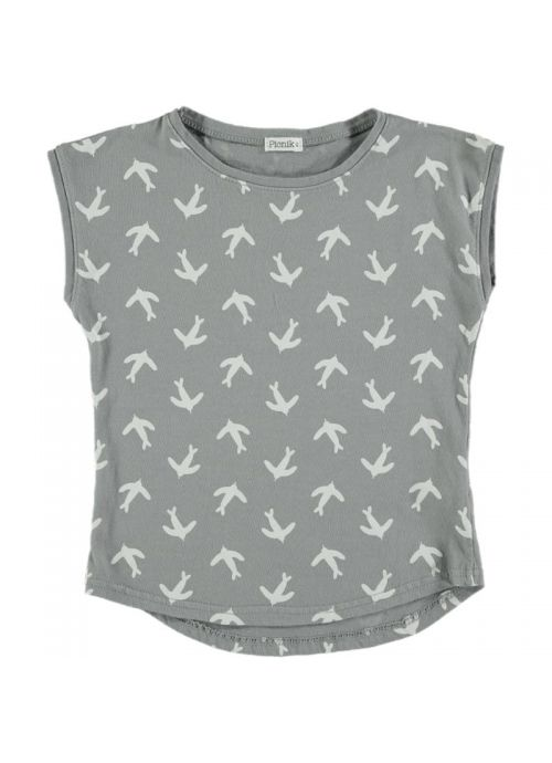 Kid T-SHIRT Girl -100% Cotton-Knitted