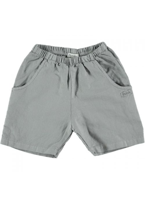 Kid TROUSERS Unisex 80% Cotton 20% Linen - Woven