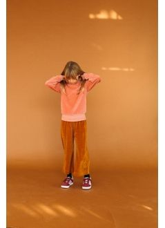 Kid TROUSERS  Unisex -84% Cotton 16% Pes -Knitted