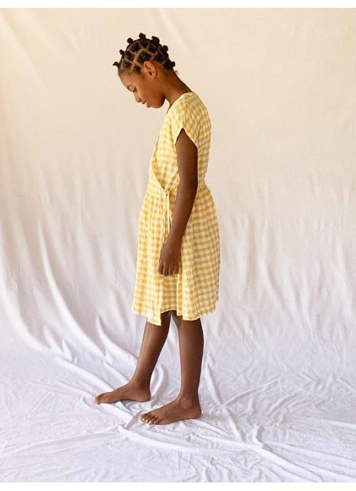 Kid  DRESS Girl-50% Cotton 50% CV - Woven